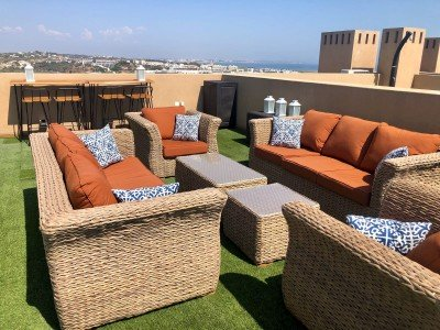 Pantano brown double sofa suite roof2xl