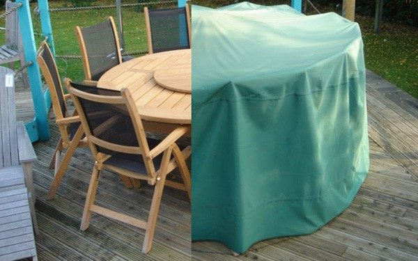 weather cover small round suite